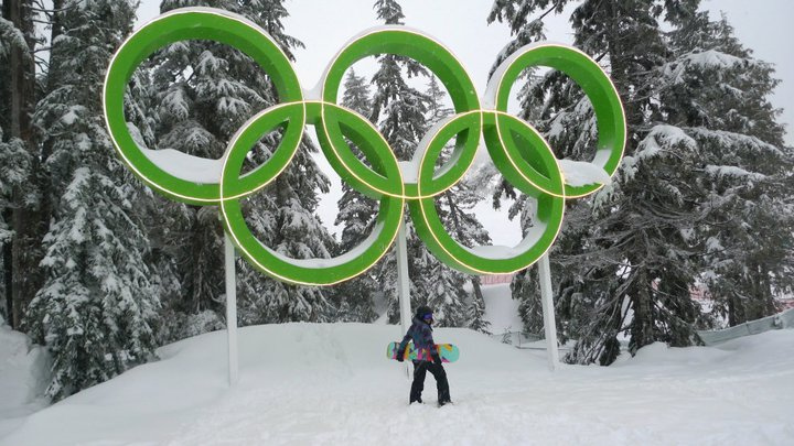 cypress olympic rings