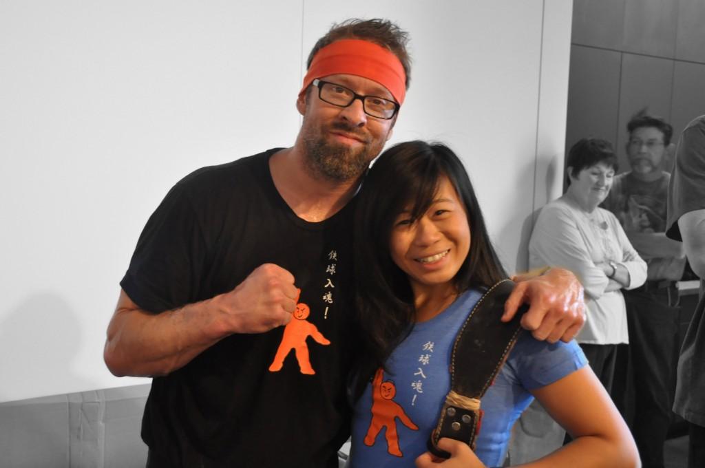 With my amazing coach Jason Dolby :)